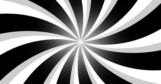4k vintage grunge black and white radial lines background. Rectangle fight stamp Animation