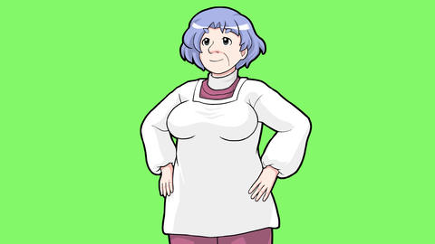 Cartoon mother GIF