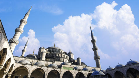 Cinemagraph - Sultan Ahmed Mosque (Blue Mosque), Istanbul, Turkey 영상물