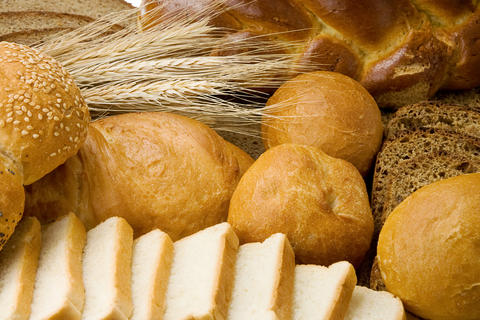 bakery products and grain Photo