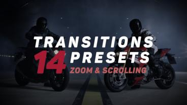 Transitions Presets Premiere Pro Template