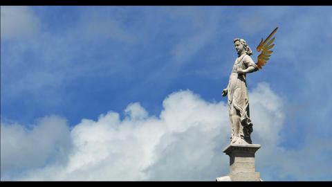 Angel on the sky timelapse 4k Footage