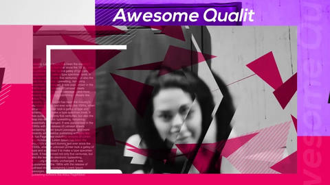 Fashion s Triangle - Fashion Opener After Effects Template