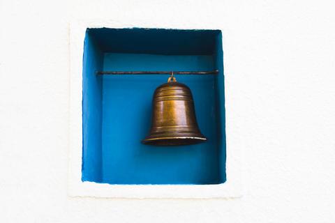 brass bell decorate Fotografía
