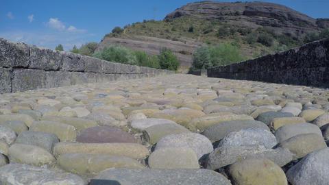 Ancient Stone Bridge Empty Roman ビデオ