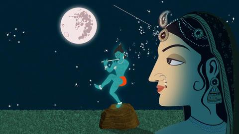 Lord Krishna and Radha Live Action