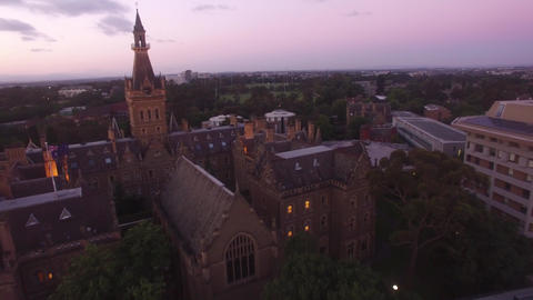 Melbourne University- Ormond College Footage