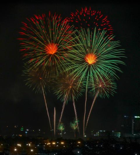 12 august queen birthday fireworks Photo
