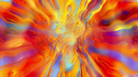 Abstract Colorful Nature Loop Animation