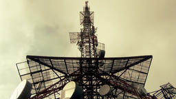 Antennas Pole For Broadcast Network Live Action