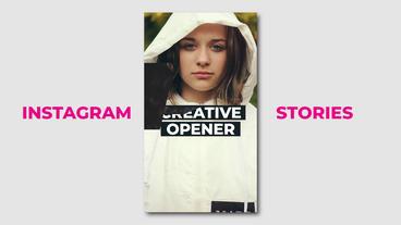 Premier Instagram opener Premiere Proテンプレート