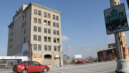 Detroit Abandoned Business 2 Footage