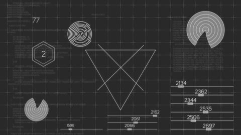HUD Interface Background Animation