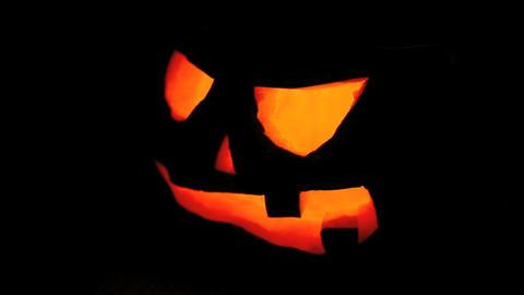 Flickering pumpkin for Halloween Live Action