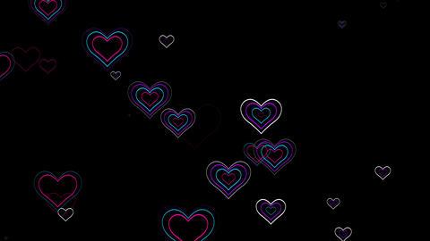 Wedding Hearts 4K 01 Vj Loop Animation