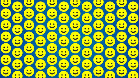 Smile happy blue background traffic vertical Stock Video Footage