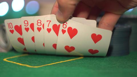 Straight Flush, Poker Cards Live Action