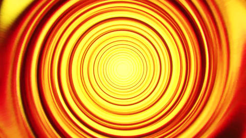 Gold Yellow Space Time Warp Tunnel Vortex Loopable Motion Background V2 Animation