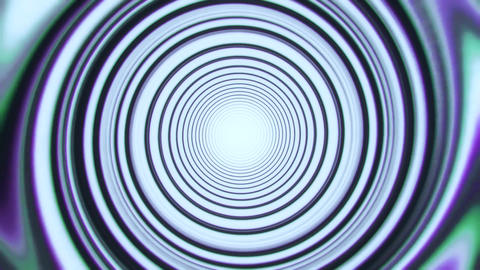 White Space Time Warp Tunnel Vortex Loopable Motion Background Animation
