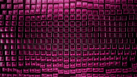 3D render Background from the pink squares Photo