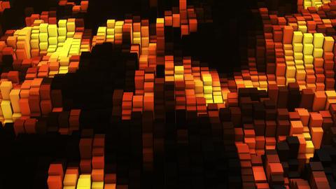 3D render Vj gold glow equalizer フォト
