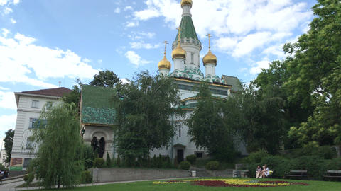 The Russian Church in Sofia Live Action