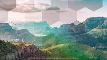 Hexagon Slideshow After Effects Template