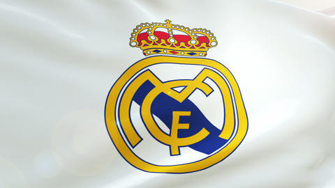 Flag Real Madrid Logo Live Action