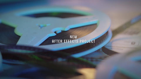Intro Projector After Effects Template
