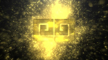 GOLDEN LOGO REVEAL Plantilla de After Effects