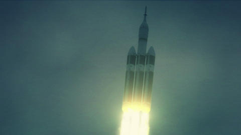 NASA Orion Spacecraft launch Footage