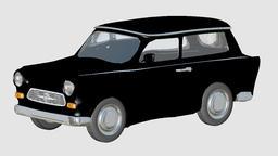 Car 3D Model Cinema4D 3D Model