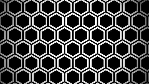 hexagon line Animation