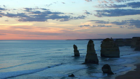 Twelve Apostles Stock Video Footage