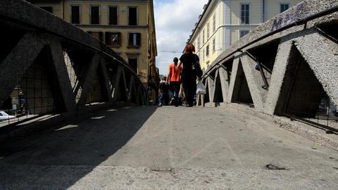 Milan Stock Video Footage