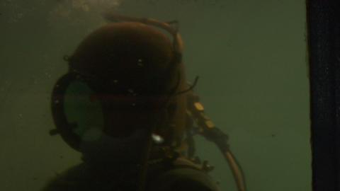 diver 01 Footage