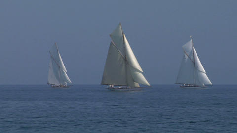 old sail 12 Stock Video Footage