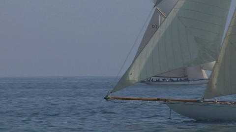 old sail close up 02 e Stock Video Footage