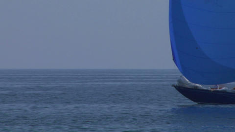 old sail close up 06 e Stock Video Footage