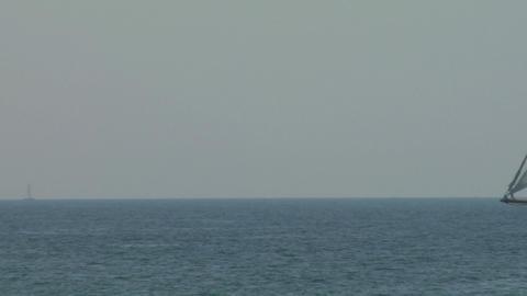 old sail regatta 13 Stock Video Footage