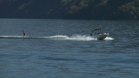 wakeboard 11 e Stock Video Footage