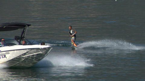 wakeboard 15 e Stock Video Footage