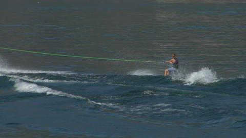 wakeboard 23 e Stock Video Footage