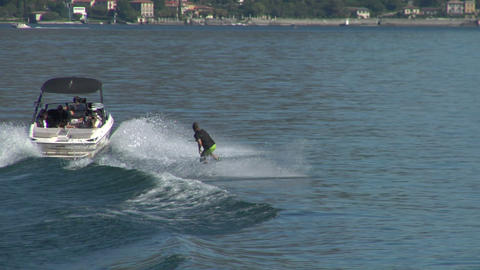 wakeboard 35 e Stock Video Footage