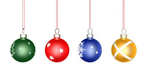 Christmas Ball Loop Animation