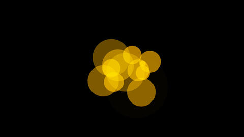 yellow circle Stock Video Footage
