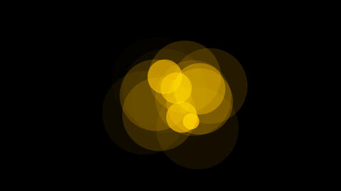 yellow circle Stock Video Footage