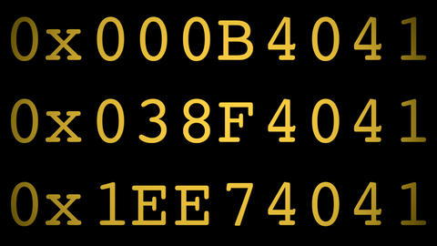 hexa code Animation