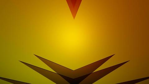 shine triangle Stock Video Footage