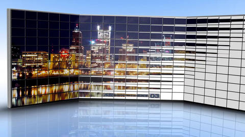 Panoramic Wall - After Effects Template After Effects Template